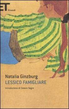 Lessico famigliare di Natalia Ginzburg