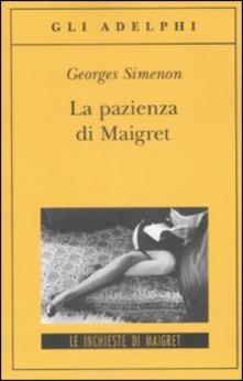 La pazienza di Maigret di Simenon