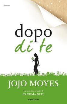 Jojo Moyes, dal libro Dopo di te
