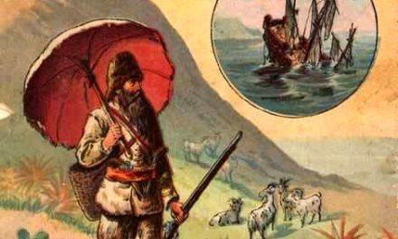 """Robinson Crusoe"" di Defoe"