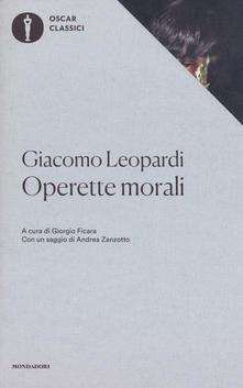 """""""Le operette morali"""" di Leopardi"""