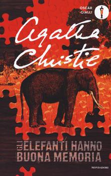 Gli elefanti hanno buona memoria di Agatha Christie