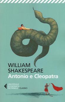 """""""Antonio e Cleopatra"""" di Shakespeare"""