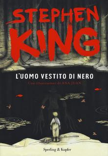"""""""L'uomo vestito di nero"""" di Stephen King"""