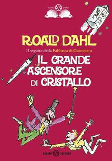 """""""Il grande ascensore di cristallo"""" di Roald Dahl"""