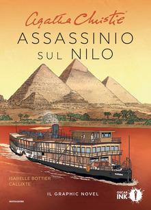 """graphic-novel """"Assassinio sul Nilo"""" di A.Christie,con sceneggiatura di I.  Bottier e disegni di Callixte"""