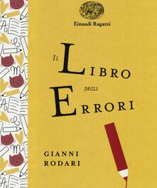 """""""Il libro degli errori"""" di Gianni Rodari"""