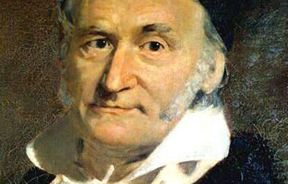 Il 30 aprile del 1777 nasceva aBraunschweig, Johann Friedrich Carl Gauss.