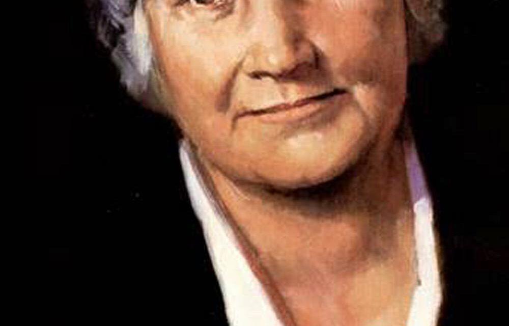 Il 6 maggio del 1952 moriva a Noordwijk, Maria Montessori.
