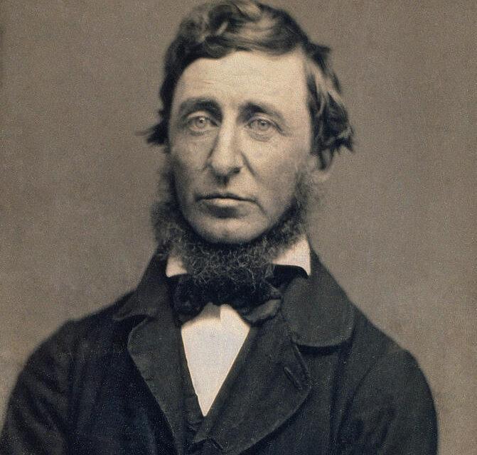 Il 6 maggio del 1862 moriva a Concord, Henry David Thoreau
