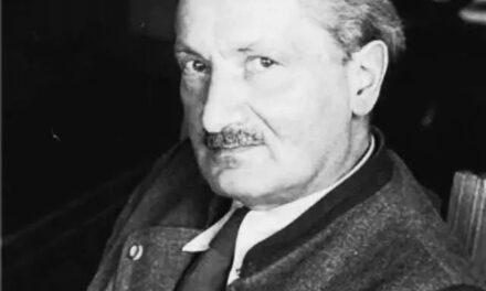 Il 26 maggio del 1976 moriva a Friburgo in Brisgovia, Martin Heidegger