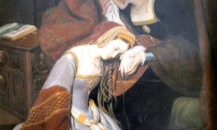 Il 19 maggio del 1536 viene giustiziata a Londra, Anna Bolena