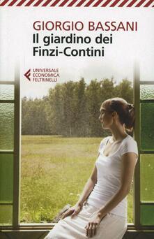Il giardino dei Finzi-Contini  di Giorgio Bassani