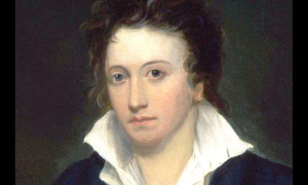 L'8 o il 9 luglio del 1822 moriva a Viareggio, Percy Bysshe Shelley