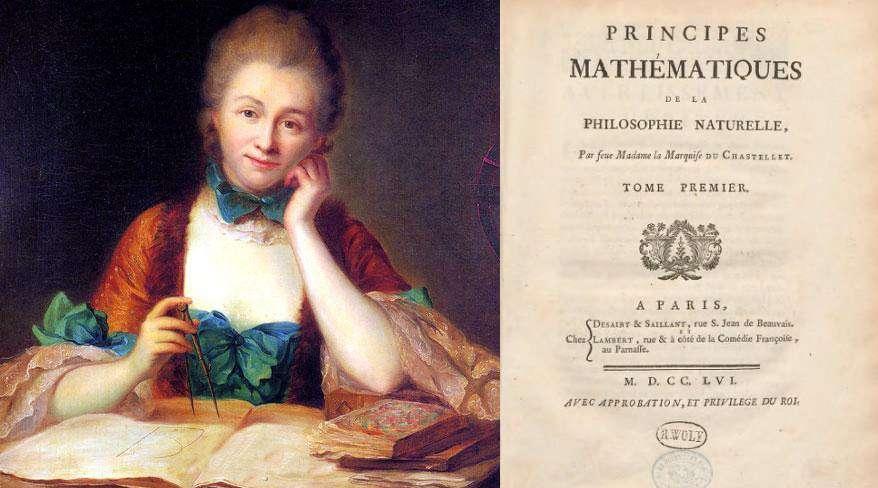 Il 10 settembre del 1749 moriva a Lunéville, Émilie du Châtelet