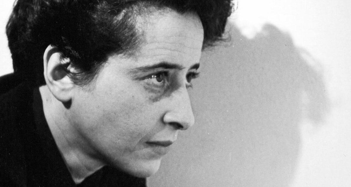 Il 14 ottobre del 1906 nasceva a Hannover,Hannah Arendt
