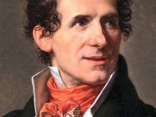 Il 13 ottobre del 1822 moriva a Venezia, Antonio Canova